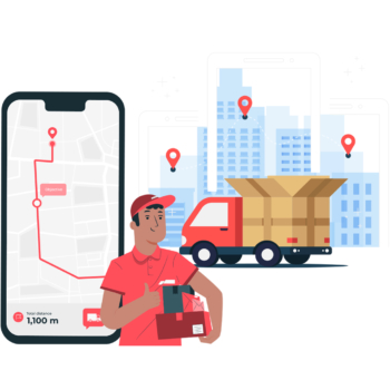 Delivery section